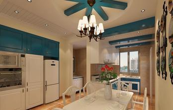 90平米三室一厅地中海风格厨房图
