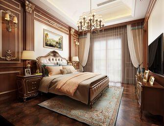 140平米别墅英伦风格卧室图片大全