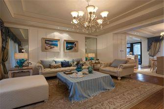 110平米地中海风格客厅装修案例