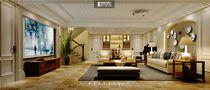 140平米别墅美式风格楼梯间家具装修效果图