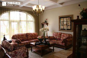 豪华型140平米四室三厅田园风格客厅图片大全