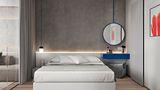 100平米三地中海风格卧室设计图