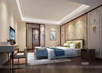 140平米三室一厅中式风格卧室设计图