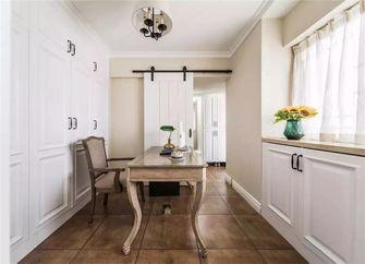 100平米四室两厅美式风格书房装修案例