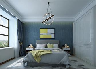 140平米三室五厅现代简约风格卧室图片大全