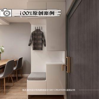 100平米三室两厅北欧风格衣帽间效果图
