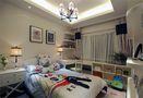 140平米四室四厅田园风格卧室图