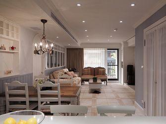 110平米三室两厅田园风格餐厅设计图