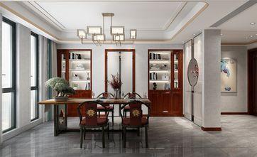 140平米四室三厅中式风格书房图片大全