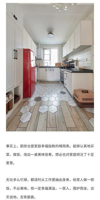 140平米三室三厅日式风格厨房装修效果图
