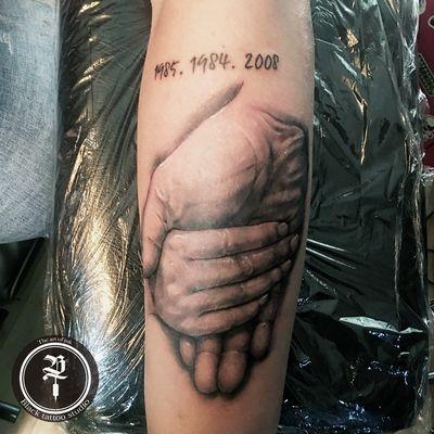 写实手纹身款式图