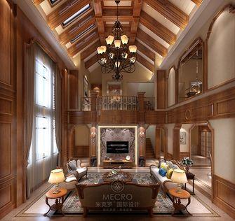 140平米别墅英伦风格客厅图片大全