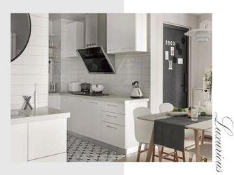 60平米一室一厅北欧风格厨房设计图