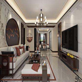 60平米三室一厅中式风格客厅设计图