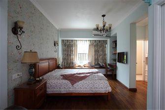 经济型120平米一室两厅田园风格卧室欣赏图