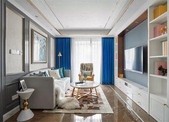 100平米三室一厅新古典风格客厅装修案例