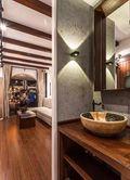 40平米小户型东南亚风格玄关设计图