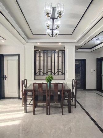 富裕型120平米三室两厅北欧风格餐厅装修案例