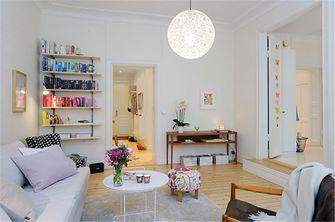 80平米现代简约风格客厅沙发图片大全