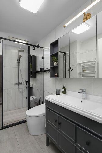80平米一室一厅现代简约风格卫生间装修图片大全