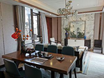 140平米四室一厅中式风格餐厅装修图片大全