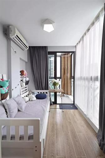 80平米三室两厅北欧风格阳台图