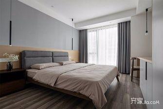 5-10万90平米三室一厅英伦风格卧室装修案例