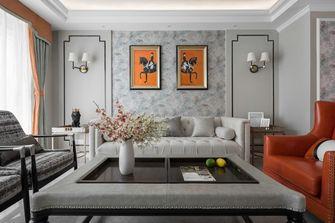 140平米四室四厅美式风格客厅图