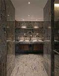 140平米别墅现代简约风格卫生间壁纸图片