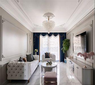 130平米法式风格客厅图片大全