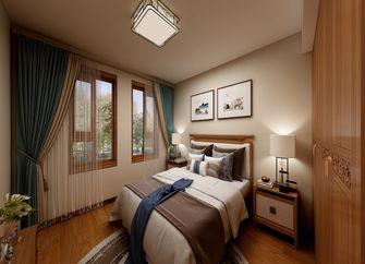 70平米一室两厅中式风格卧室装修效果图