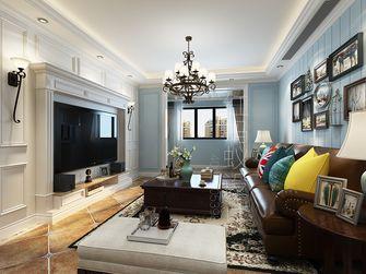 富裕型120平米三室三厅地中海风格客厅设计图
