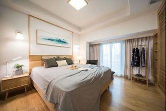 130平米四日式风格卧室图片