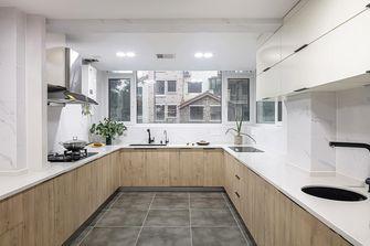 130平米三室两厅日式风格厨房装修案例