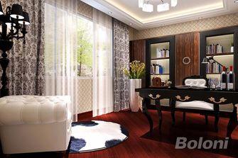 130平米三室两厅欧式风格书房装修效果图