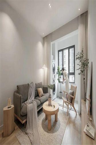 80平米三室两厅日式风格客厅图