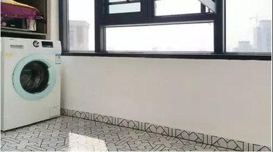 80平米三室两厅混搭风格阳台装修案例
