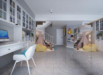 140平米四室三厅北欧风格书房图