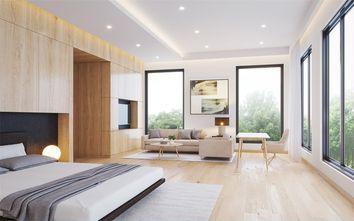 140平米别墅日式风格卧室装修案例