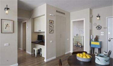 70平米公寓现代简约风格玄关设计图