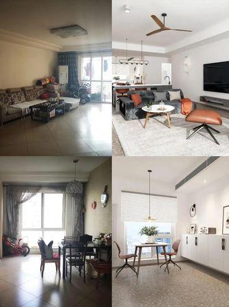 110平米四现代简约风格客厅装修案例