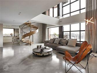 130平米英伦风格客厅图片