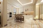 140平米四室三厅欧式风格餐厅图片