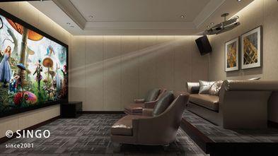 140平米四室两厅中式风格影音室图片