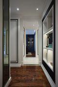 120平米三室一厅新古典风格玄关图