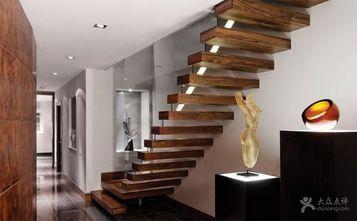 富裕型120平米复式现代简约风格楼梯欣赏图