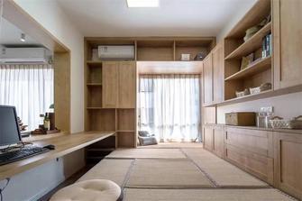 140平米别墅日式风格书房效果图