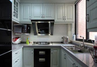 80平米美式风格厨房欣赏图