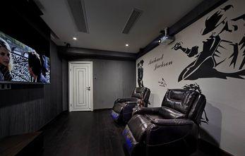 130平米三现代简约风格影音室图