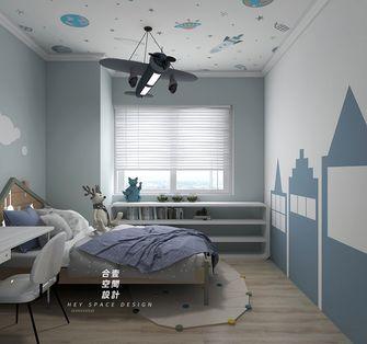 80平米三室两厅北欧风格儿童房图